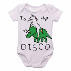 Roupa Bebê Dinossauro Unicórnio