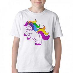Camiseta Infantil Unicórnio