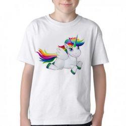 Camiseta Infantil Cavalo Unicórnio