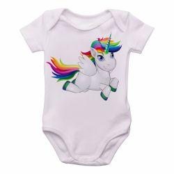 Roupa Bebê Cavalo Unicórnio