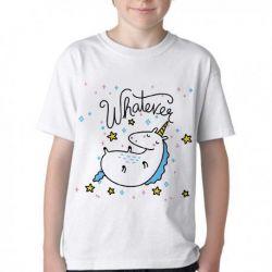 Camiseta Unicórnio Whatever