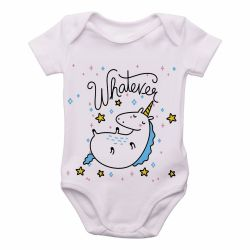 Roupa Bebê Unicórnio Whatever