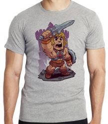Camiseta Infantil He Man