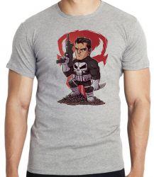 Camiseta Infantil Justiceiro