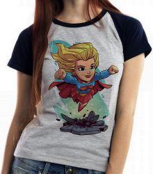 Blusa Feminina Super Girl