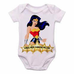 Roupa Bebê Mulher Maravilha