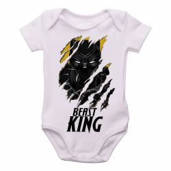 Roupa Bebê Pantera Negra King