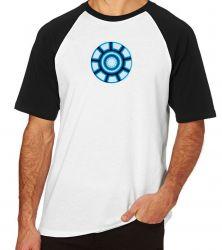 Camiseta Raglan Reator Tony Stark
