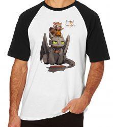 Camiseta Raglan Rocket Banguela
