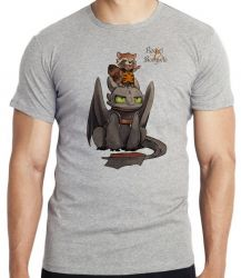 Camiseta Infantil Rocket Banguela