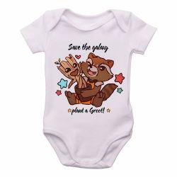 Roupa Bebê Salve galáxia