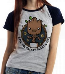 Blusa Feminina Plante Groot Árvore