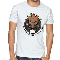 Camiseta Plante Groot Árvore