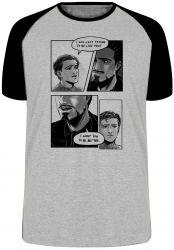 Camiseta Raglan Tony Stark  Peter Parker