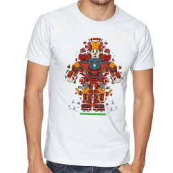 Camiseta Homem Ferro Peças