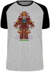 Camiseta Raglan Homem Ferro Peças