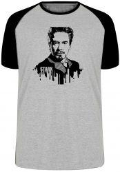 Camiseta Raglan Tony Stark