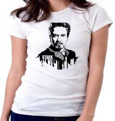 Blusa Feminina Tony Stark