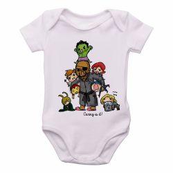 Roupa Bebê Vingadores Crianças