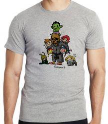 Camiseta Vingadores Crianças