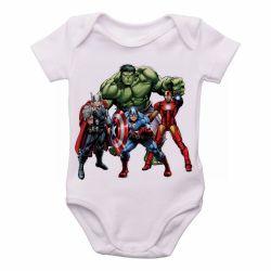 Roupa Bebê Vingadores