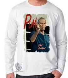 Camiseta Manga Longa Clint Eastwood