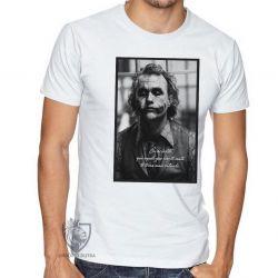 Camiseta Coringa Cavaleiro das Trevas