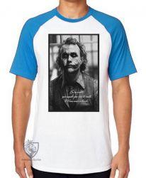 Camiseta Raglan Coringa Cavaleiro das Trevas