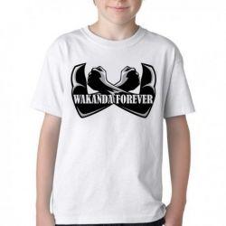 Camiseta Infantil Wakanda