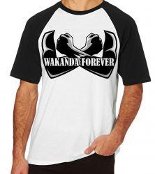 Camiseta Raglan Wakanda