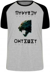 Camiseta Raglan Wakanda Forever
