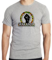 Camiseta Infantil Wakanda Pantera Negra