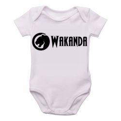 Roupa Bebê Wakanda Black Panther