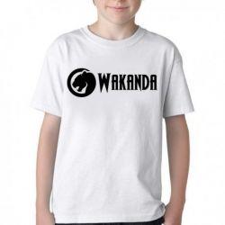 Camiseta Infantil Wakanda Black Panther