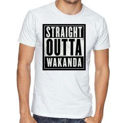 Camiseta Straight Pantera Negra