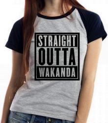 Blusa Feminina Straight Pantera Negra