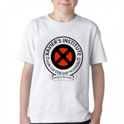 Camiseta Infantil Xavier Institute  X-Men