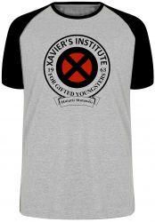 Camiseta Raglan Xavier Institute  X-Men