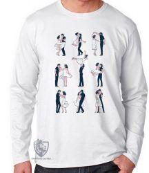 Camiseta Manga Longa Dirty Dancing passos