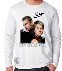 Camiseta Manga Longa Divergente