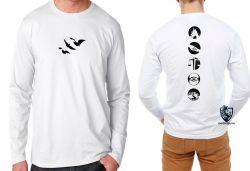 Camiseta Manga Longa Divergente facções