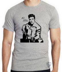 Camiseta Elvis Presley guitar