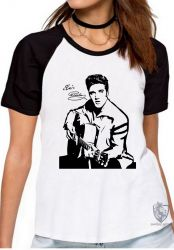 Blusa Feminina  Elvis Presley guitar