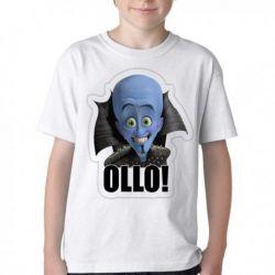 Camiseta Infantil Megamente
