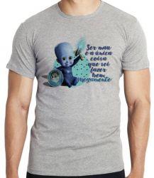 Camiseta Infantil Megamente Ser Mau