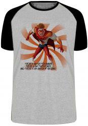 Camiseta Raglan Megamente Titan