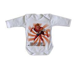 Roupa Bebê manga longa Megamente Titan