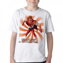 Camiseta Infantil Megamente Titan
