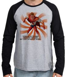 Camiseta Manga Longa Megamente Titan