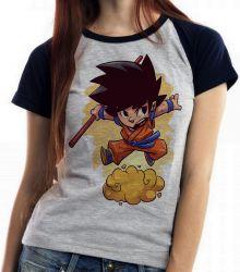 Blusa Feminina Dragon Ball Goku